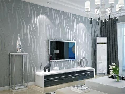 black  silver  modern stripes art wallpaper roll