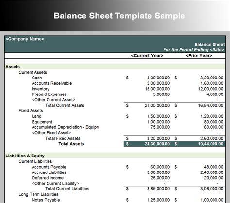 Balance Sheet Template 10 Balance Sheet Template Free Word Excel Pdf Formats