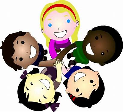 Multicultural Clipart Children Clip Clipground Cliparts
