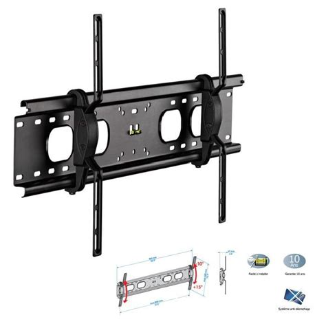 support mural tv meliconi s400