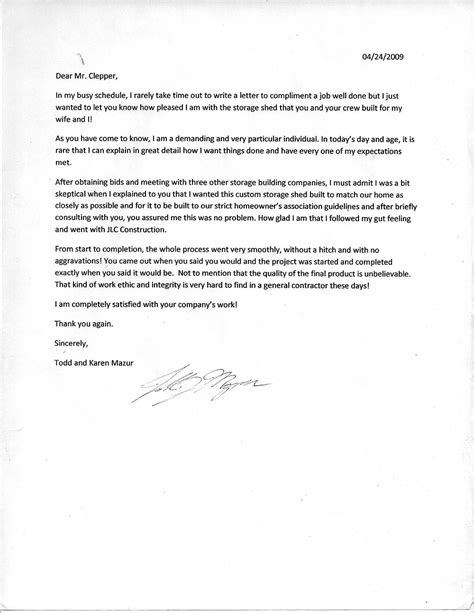 sle award nomination letter for employee thank you letter sle well done 28 images business 7232