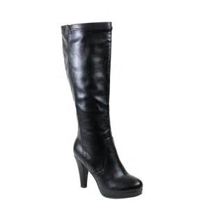 womens boots knee high black reneeze mimi 06 womens high heel knee high boots black