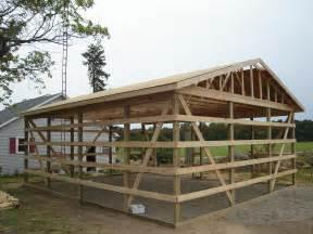 24 30 Pole Barn Garage Hicksville Ohio Jeremykrill Aesthetic Yet Fully Functional Pole Barn Designs