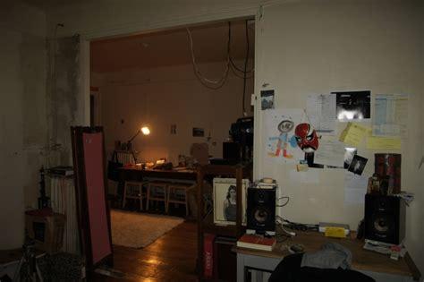 chambre colocation absence de cloison entre une chambre et un salon comment