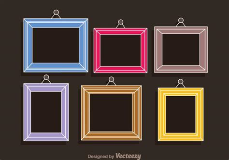 picture collage template colorful frames photo collage template free vector stock graphics images