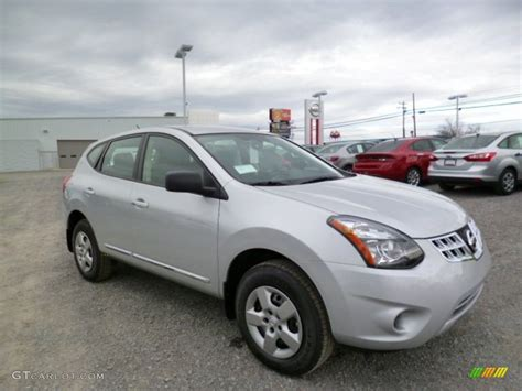 silver nissan rogue 2014 2014 brilliant silver nissan rogue select s 91943054