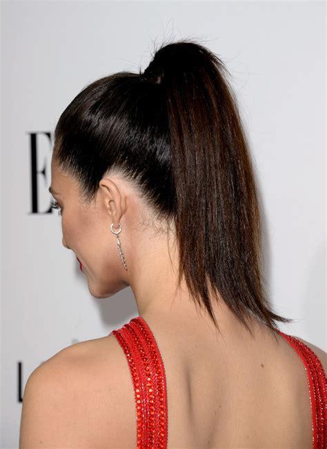 Emmy Rossum Ponytail - Emmy Rossum Looks - StyleBistro