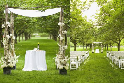 inspirational outdoor wedding ceremony decorations icets