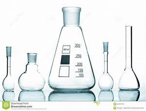 Chemical Glass Equipment Stock Image  Image Of Container