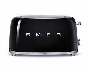Smeg Küchenmaschine Zubehör : smeg tsf02bleu 4 scheiben toaster schwarz ~ Frokenaadalensverden.com Haus und Dekorationen