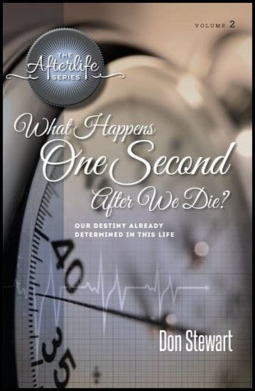 What Happens After Second by What Happens One Second After We Die Calvary Chapel
