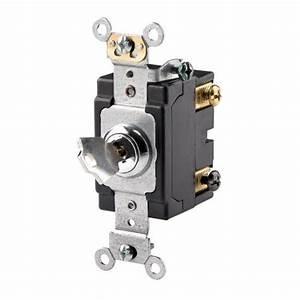 Commercial Electrical 20 Amp  120  277 Volt  Key Locking