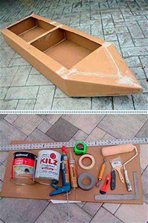 Cardboard Boat Project High School by Boat Building 101