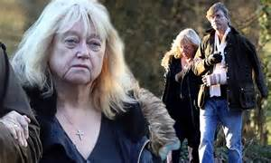 love2wait judy finnigan accompanies injured husband richard madeley