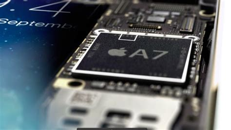 iphone 5s processor apple highlights 64 bit a7 processor in new iphone 5s print ad
