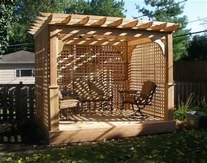 Pergola En Bambou : fabriquer une pergola instructions et mod les inspirants ~ Premium-room.com Idées de Décoration