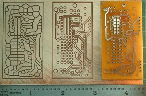 drl visolate voronoi toolpaths  pcb mechanical etch