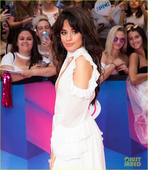 Camila Cabello Niall Horan Arrive Iheartradio Mmvas