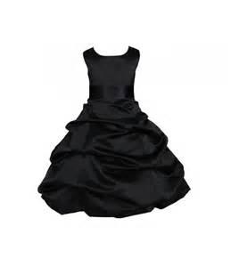 purple dresses for weddings black flower girl dress tie sash pageant wedding bridal