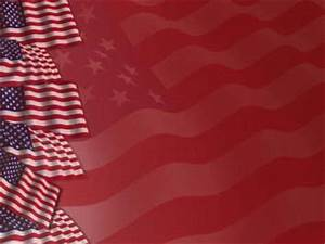 United States Of America Flag 03 Powerpoint Template