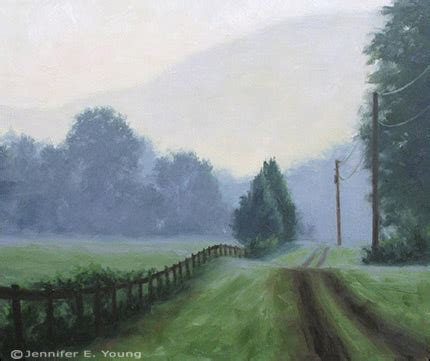 luminous landscape paintings  virginia artist jennifer young