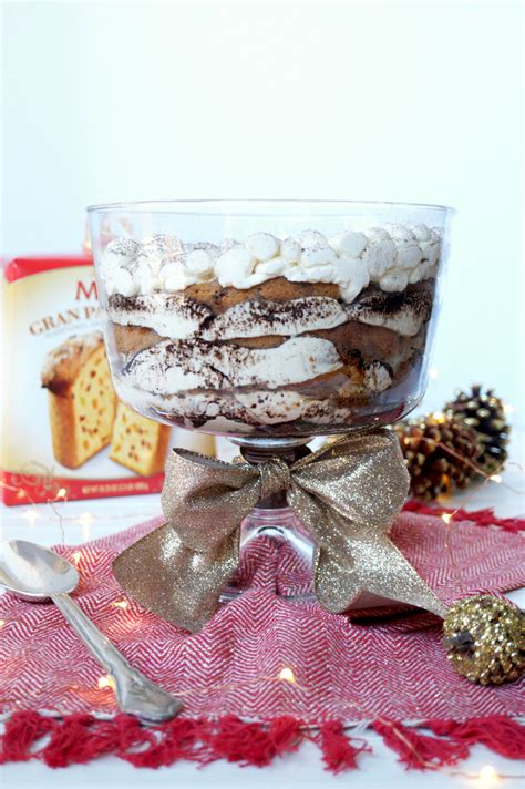 chocolate orange panettone tiramisu  baking fairy