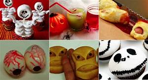Recette Apéro Halloween : 10 id es de recettes originales sp ciales halloween la recette ~ Melissatoandfro.com Idées de Décoration