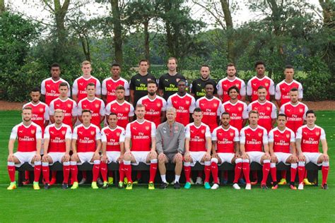 arsenal roster players squad