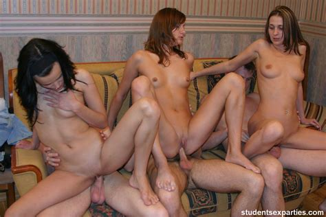 Student Sex Party With Sexy College Girls Drunk Horny And