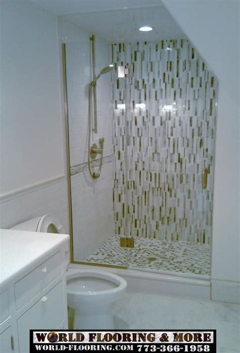 Mosaic Tile Shower Floor - 30 pictures of using mosaic tile for shower floor