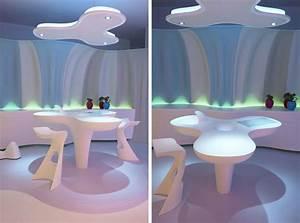 Futuristic Home Made Of Corian and Designed by Karim ...