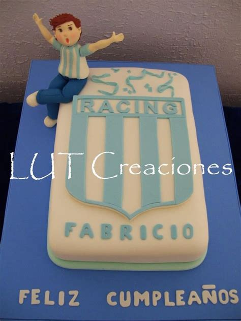 torta decorada racing club tortas de cumpleanos equipos
