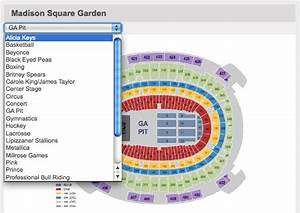 Interactive Seating Chart Square Garden Concert Ticketmaster Seating Chart For Concerts Brokeasshome Com