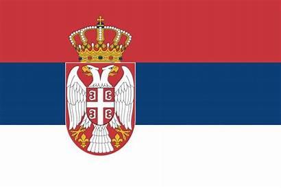 Flagge Serbien Anmalen
