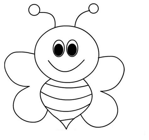 ayo mewarnai gambar mewarnai lebah untuk anak paud dan tk