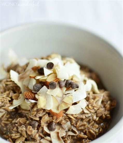 cook oatmeal no cook overnight oatmeal wonkywonderful