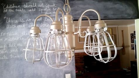 non permanent ways to update a light fixture