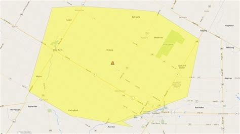 power outage affects  stratford area properties ctv