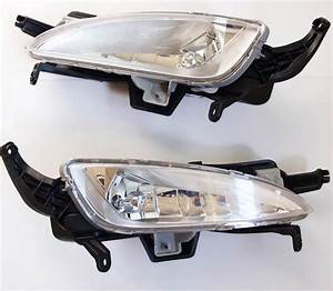 Fog Light Lamp Pair   Wire Genuine Parts  Fit  Kia Optima 2011 2012 2013 K5