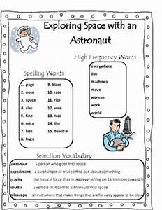 Astronaut Worksheets (page 2) - Pics about space