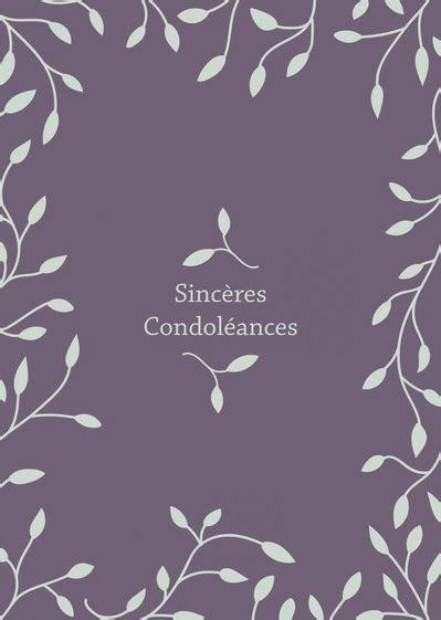 carte de condoleance modele texte condol 233 ances gratuit message condol 233 ances merci