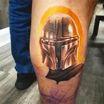 Mandalorian Tattoo Tattoos Mask Edgy Halo