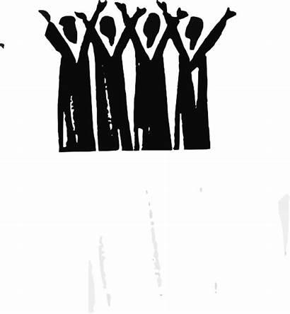 Praise Clip Clipart Cliparts Vector Choir Worship