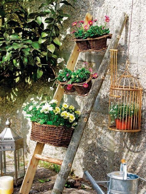marvelous ideas    ladder   garden