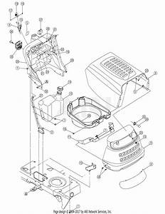 Mtd 13an601h729  2006  Parts Diagram For Hood Assembly
