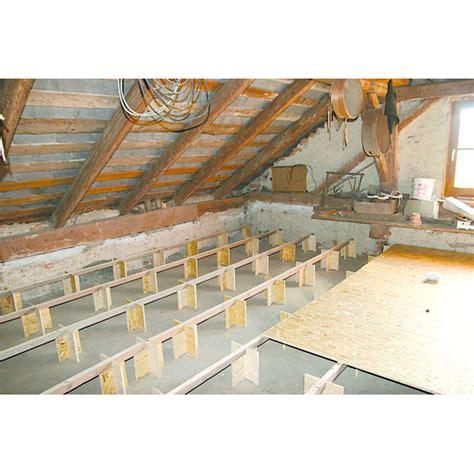module osb pour pose de planchers bois sur isolant en vrac isocell