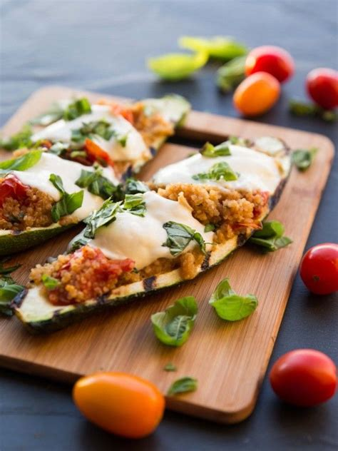 How To Make Zucchini Boats On The Grill by 1000 Ideas About Grilled Zucchini Boats On