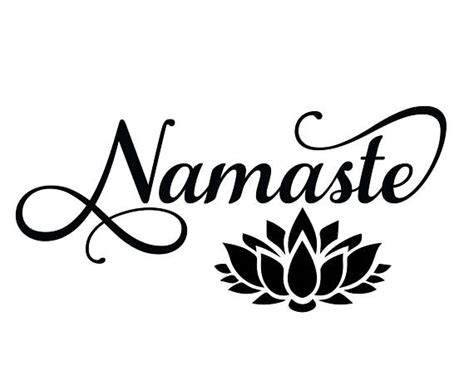 If you wish to use our. Namaste svg Lotus flower Yoga svg Cut files for Silhouette