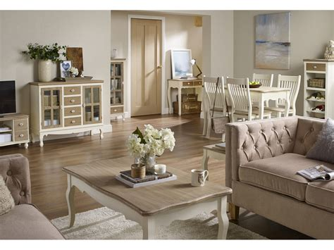 juliette cream pine living room furniture tables