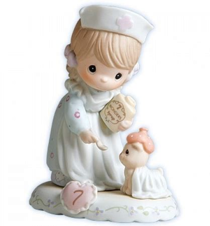 Growing in Grace Age 7 Precious Moment Figurine